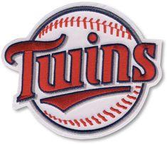 Minnesota Twins MLB Baseball Team Logo Patch (Twins on Baseball)