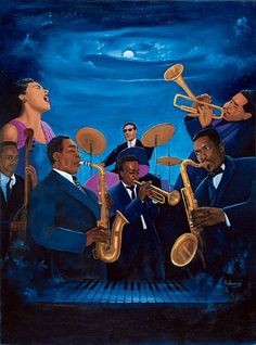 Jazz music will be played by a band on some nights. And this pic can be used as art work for the walls.