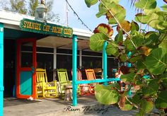 Staniel Cay Yacht Club on Staniel Cay in the Exuma Cays! Voted as one of the best places to get a waterside drink by Jimmy Buffett and now we know why!