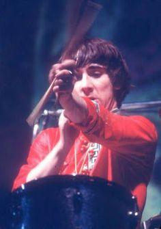 Keith Moon uno de los mejores bateristas de la música rock