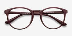 Muse | Dark Red | Women Plastic Eyeglasses | EyeBuyDirect