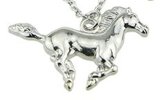 Shiny Silver Running Galloping Horse Pendant Necklace Gift for Valentines Mothers Fathers Day Easter Christmas Embolden Jewelry http://www.amazon.com/dp/B00HBGO9RQ/ref=cm_sw_r_pi_dp_qljAvb1V0TGZQ