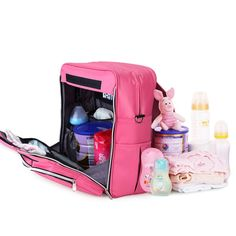 51.84$  Buy now - http://ali7k2.shopchina.info/go.php?t=32789495593 - New Year Fashion Mommy Backpack Diaper Bags Multi-functional Maternity Bag Pregnant Women Backpack Nursing Bag Baby Diaper Bag  #aliexpress