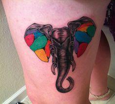 elephant #tattoo