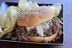 Philly Cheese Steak Sloppy Joes??  Sounds yum!