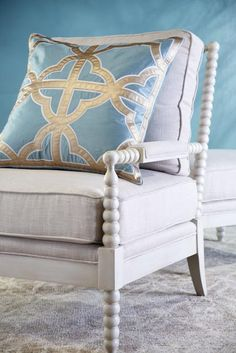 Layer in subtle color with soft aquamarine.