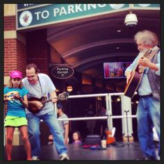 Jamming in Silver Spring with a new band member!