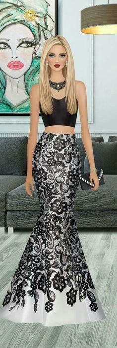 Party Fashion, Fashion Art, Fashion Show, Fashion Looks, Fashion Design, Black Prom Dresses, Cute Dresses, Beautiful Dresses, Dress Sketches