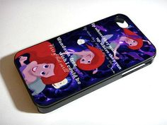 Ariel The Little Mermaid Quote - iPhone 4 / iPhone 4S / iPhone 5 Case Cover 451K on Etsy, $15.88 #Christmas #thanksgiving #Holiday #quote