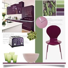 Purple and Green by viva-12 on Polyvore featuring polyvore, interior, interiors, interior design, home, home decor, interior decorating, Canvas Home, canvas and Nearly Natural