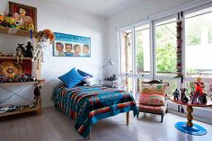 The Paddington terrace house of Sophie Tatlow and Bruce Slorach of Utopia Goods and Deuce Design and their two sons.