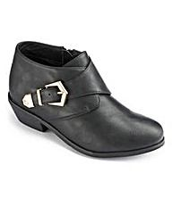 Sole Diva Monk Ankle Boot EEE Fit