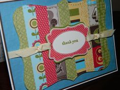 Quilting a handmade card