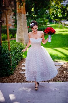 white-lace-dress-sparkly-shoes