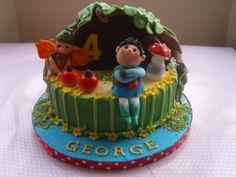 Tree Fu Tom Cake www.kitchenfairiesleeds.co.uk