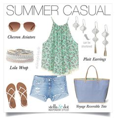 """Casual can still be stylish with these Stella & Dot essentials."" by cathy-bartlett on Polyvore featuring rag & bone/JEAN, Stella & Dot and Billabong"