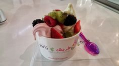 Fresh and Tangy Frozen Yogurt Tangier, Frozen Yogurt, Saudi Arabia, Pudding, Fresh, Desserts, Food, Tailgate Desserts, Deserts