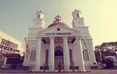 Blenduk Church, Semarang - Canon EOS 5D Mk II, Canon lenses 17-40mm