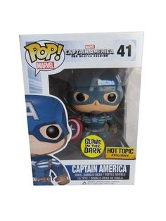 Glow in the Dark Captain America POP Vinyl Edition http://popvinyl.net/news/glow-in-the-dark-captain-america-pop-vinyl-edition/  #popvinyl