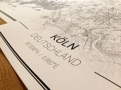 Mapify+-+The+Art+of+Maps+-+50x70+/+70x50+cm++von+Mapify+auf+DaWanda.com