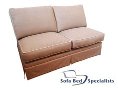 au sofa bed cream chenille reversible chaise sectional 43 best australian made beds sofas and chairs images sleeper armless sofabed with skirt contrast piping shop now at sofabedspecialists com