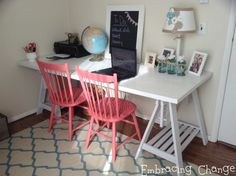 Craft Room Reveal from Stacey at Embracing Change