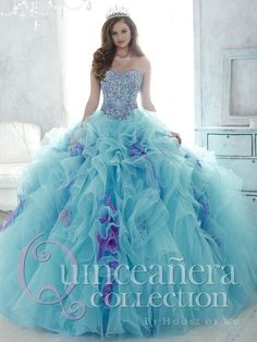 The Quinceanera Collection offers elegant quinceanera dresses, 15 dresses, and vestidos de quinceanera! These pretty quince dresses are perfect for your party! Quinceanera Dresses 2016, Quinceanera Collection, Sweet 15 Dresses, Trendy Dresses, Masquerade Ball Gowns, Quince Dresses, Gowns Of Elegance, Ball Gown Dresses, Dress Collection