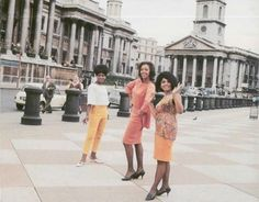 The Marvelettes in London, 1966