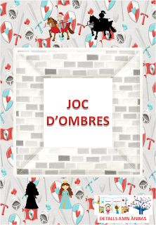 JOC D'OMBRES - ST. JORDI. DETALLS AMB ÀNIMA Frame, English, Home Decor, Shadow Play, Games, Picture Frame, Decoration Home, Room Decor, English Language
