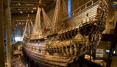 In Stockholm, take a tour of the Vasa Museum displaying the war ship Vasa, which sank on its maiden voyage in 1628 and was raised virtually intact in 1961.