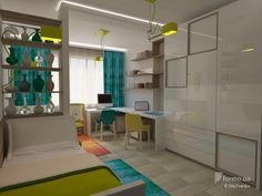 Деликатные оттенки, Ola Franko, Детская комната, Дизайн интерьеров, белые стены