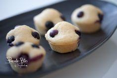 Pancake-Bites Pancake Bites, Nutella, Doughnut, Pancakes, Desserts, Muffins, Food, Kochen, Pancake Ideas