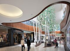 Pin by mymy fa on shopping center architecture commerciale, architecture, c Shopping Mall Architecture, Shopping Mall Interior, Retail Architecture, Retail Interior, Mall Design, Lobby Design, Retail Design, Atrium Design, Entrance Design