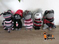 Sockentierchen, sock animals