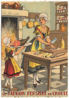 Funny Vintage Ads, Vintage Humor, Vintage Labels, Vintage Pictures, Vintage Images, Antique Illustration, Illustration Art, Studio Cards, Italian Artist