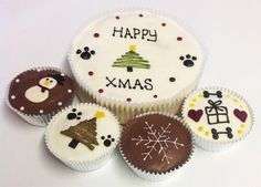 Our tasty dog friendly Christmas cakes