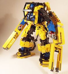 """Well, I can drive that loader."" Power Loader.by Kyle Peckham"