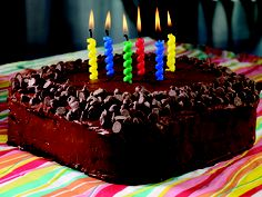 Chocolate Birthday Bash Cake #recipe #cake