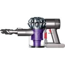 Dyson - DC58 Bagless Cordless Hand Vac - Nickel/Red/Purple The BEST vacuum ever made for vehicles! Easy and the battery last a long time.