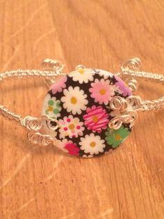 Floral Weave Bracelet www.facebook.com/myexquisitethings