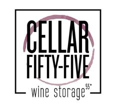 cellar fifty-five wine storage logo by the logo boutique Best Logo Design, Custom Logo Design, Custom Logos, Best Logo Maker, Food Manufacturing, Wine Logo, Logo Restaurant, Wine Storage, Food Industry