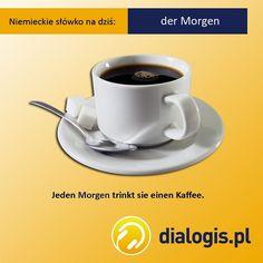 """""""Każdego ranka ona pije kawę""""."""