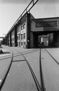 Winterthur, Sulzer, Kranbahn, Gleise vor 2000