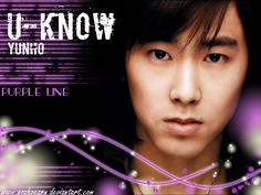 U-Know+Yunho | Know Yunho Purple Wallpaper by noahvearn