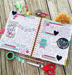 Memory Monday Large Flourabunda Ban.do Planner Memory Planner Memory Keeping Planner Layout Smashbook Scrapbook Technique Stamps Stamping Hymn Art Washi Tape Growing Meadows Tai Bender