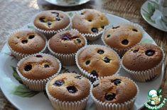 Маффины бисквитные со смородиной ингредиенты