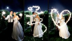 #wedding sparklers #receiving line #wedding decorations   http://www.bliss-bridal-weddings.com/#!lighting/c1zlm