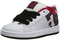 DC Court Graffik Skate Shoe (Little Kid/Big Kid) - http://shoes.goshopinterest.com/girls/athletic-girls/skateboarding-athletic-girls/dc-court-graffik-skate-shoe-little-kidbig-kid/