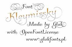 Kleymissky font by gluk - FontSpace