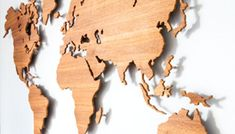 Information | WoodenMyWorld | Wooden world map